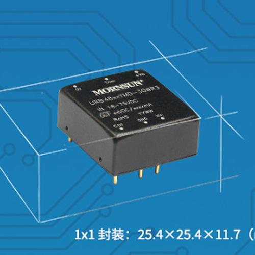 金升阳 高功率密度DC/DC模块电源——宽压URA/B_YMD-30WR3 系列