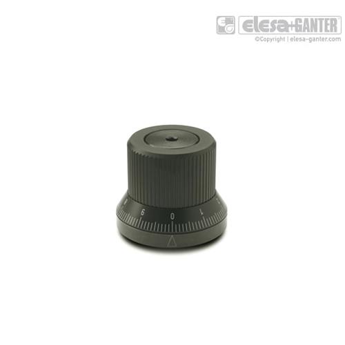 伊莉莎 GN 700 调节旋钮 带无极定位