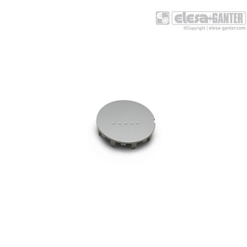伊莉莎 ECB.G 中心帽 用于 EGK.SOFT,高科技聚合体