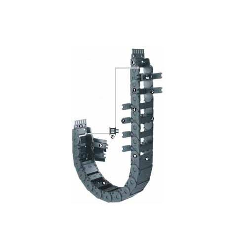 易格斯 2500系列 - 链, 可沿外径方向快速打开