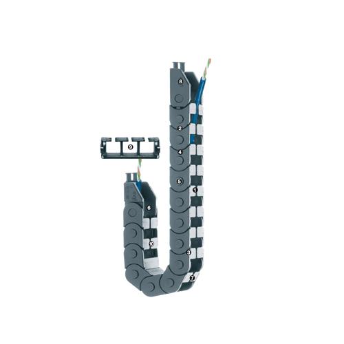 易格斯 Z 065系列 - 链, 从外径方向
