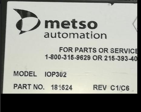 IOP302美卓模块METSO控制器