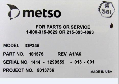 IOP351,IOP345美卓METSO控制器