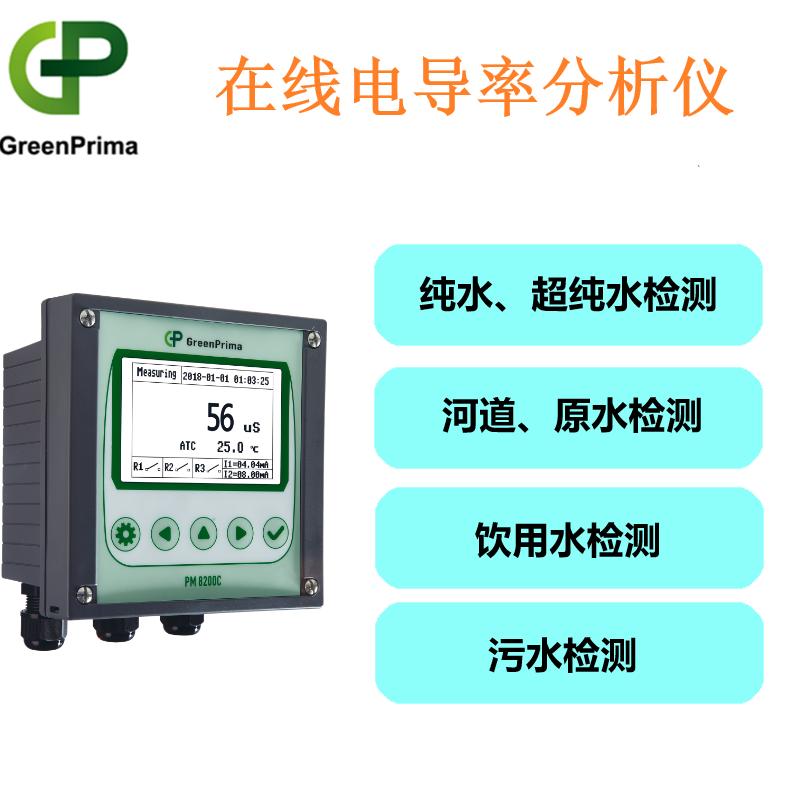 进口电导率检测仪GP-水质环保工业盐度计