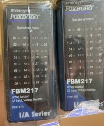 FBM217福克斯波罗FOXBORO控制器