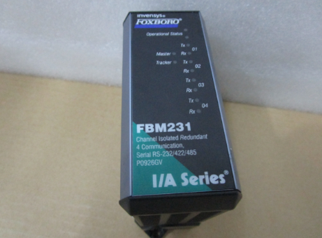 FBM231福克斯波罗FOXBORO控制器