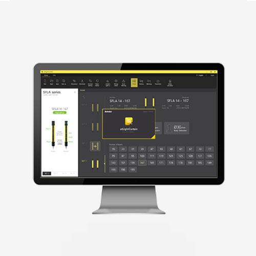 奥托尼克斯 SFL/SFLA系列安全光幕软件