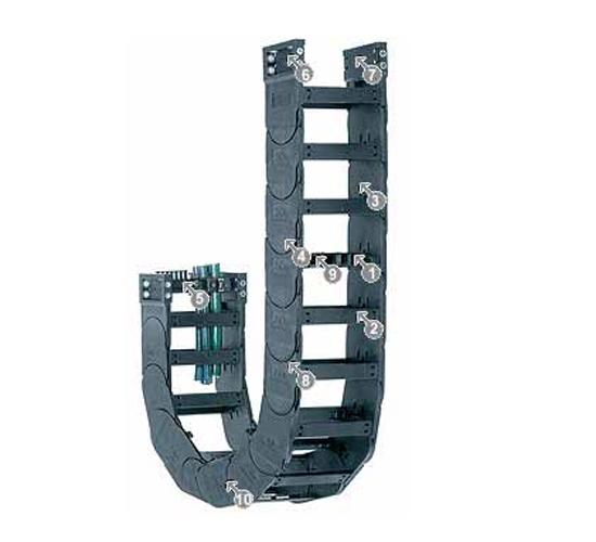 易格斯 拖链E4/轻型拖链-14340系列