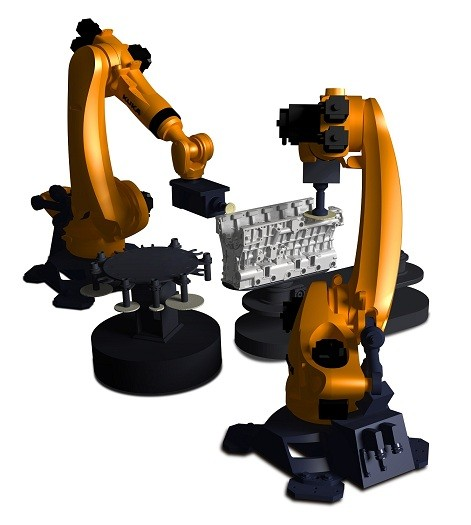 ABB、库卡机器人打磨、去毛刺应用