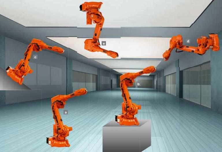 码垛自动/ 自动化焊接ABB IRB 2600-20 六轴工业机器人
