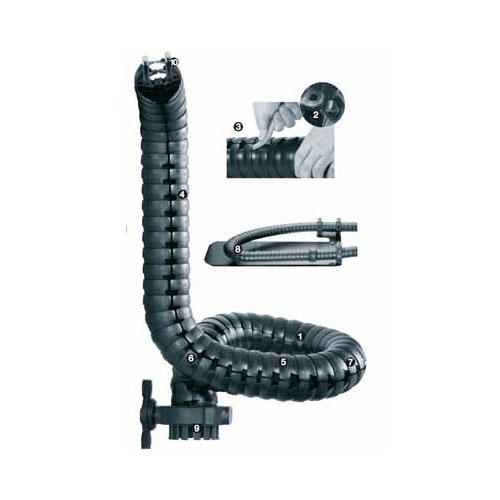 """易格斯 triflex® R,""""方便型""""设计,易于装填电缆及管线-TRE.40"""