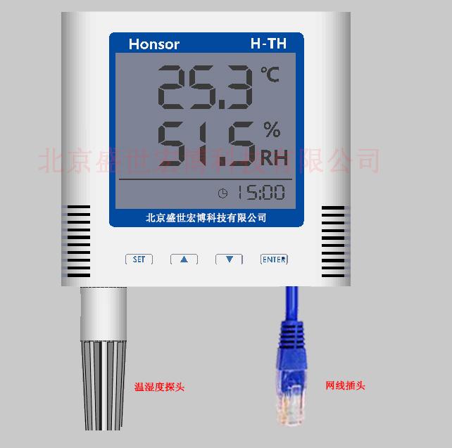 开关量信号输出温湿度传感器壁挂式继电器信号输出温湿度上下限