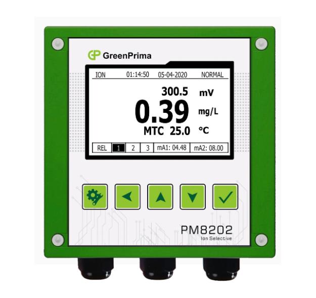 电极法氨氮监测仪_英国GREENPRIMA 准确可靠