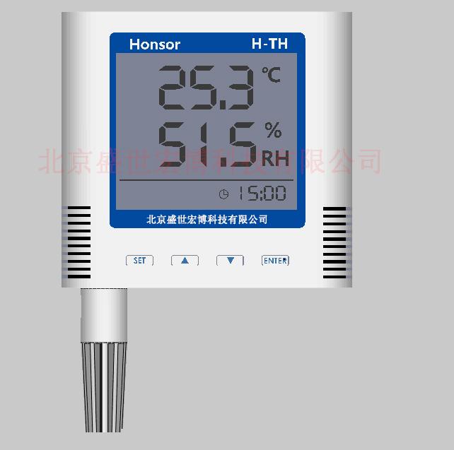 双RJ45温湿度变送器双网口标准modbus RS485温湿度传感器