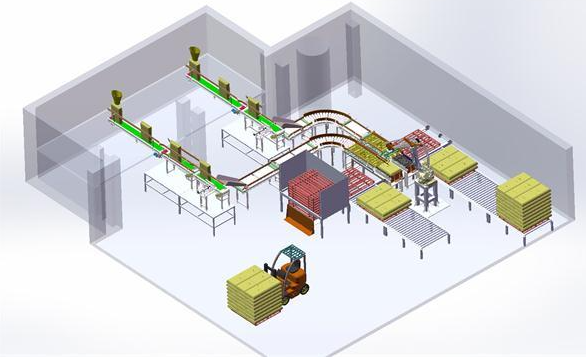 工业机器人在柔性生产线中的应用