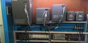 英威騰在卷筒紙螺旋式雙刀分切機上的應用案例