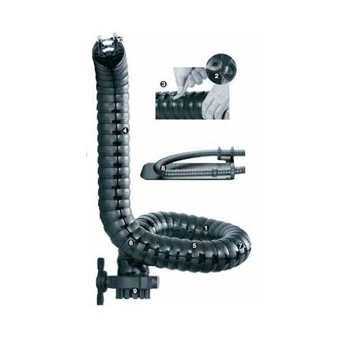 """易格斯 triflex® R,""""方便型""""设计,易于装填电缆及管线-TRE.70"""