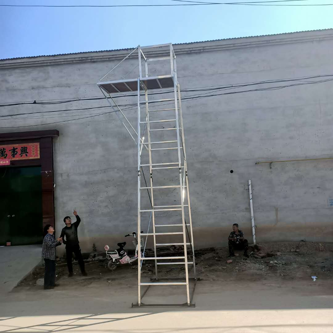 铝合金单边梯车 接触网检修梯车 轨道梯车