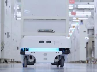 MiR100自主移动机器人助力韩国电子元器件公司中国工厂实现安全高效的自动化物流运输