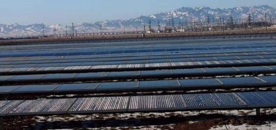 新风光高压SVG在哈萨克斯坦某光伏电站的应用