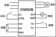 易能EN650B变频器在高温高压染色机上的应用能