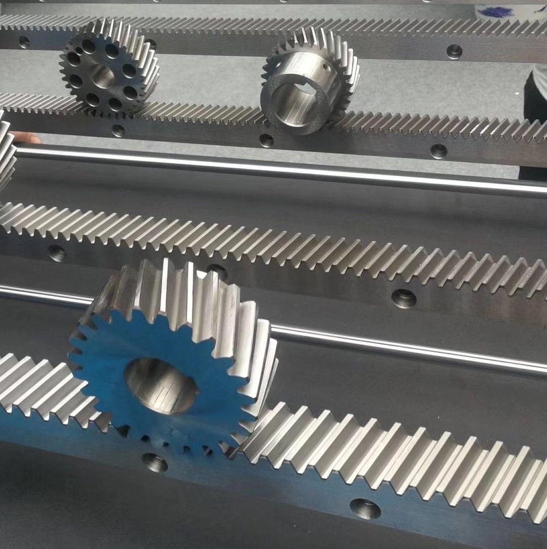 台湾高潼V型导轨齿条 V型导轨直齿条斜齿条 高精度 高耐用