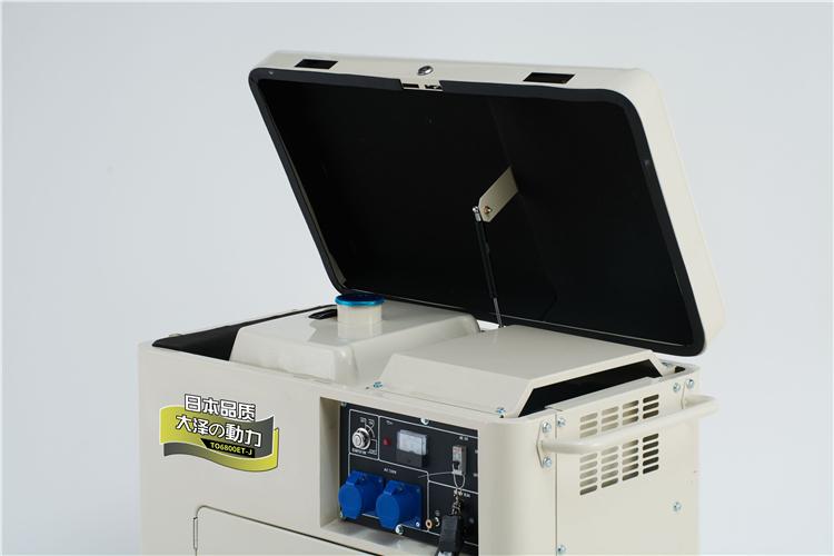 远程超控用5KW柴油发电机