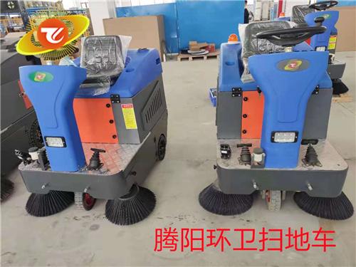 腾阳电动驾驶式扫地车充电注意事项