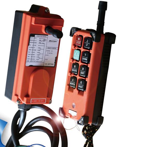 F21-E1B禹鼎行车遥控器    起重机遥控器   工业无线遥控器