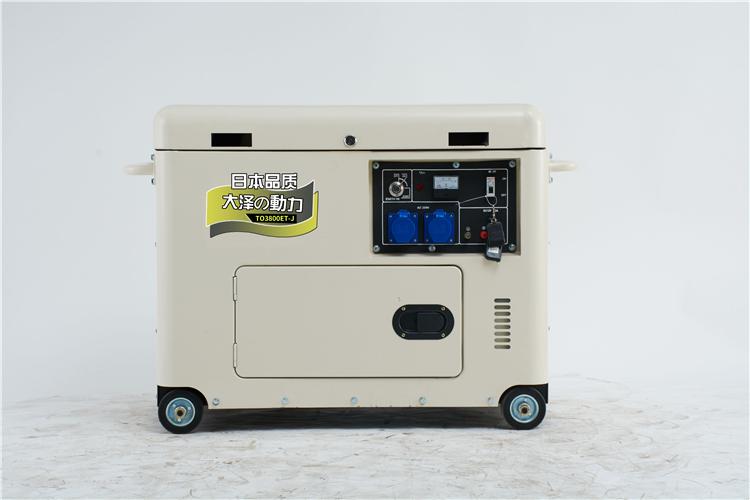 4.0焊机3KW柴油发电机