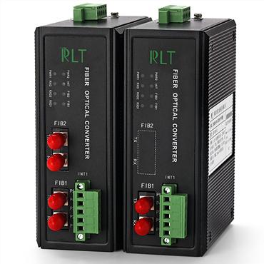 锐力通科技/工业级DH/DH+总线光纤中继器