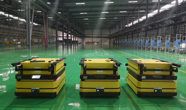 AGV智能搬运机器人使用中的优点介绍
