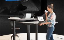 【力纳克】如果力纳克产品会说话—NO.1! 全球第一套办公升降桌系统DL1