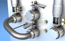 【图尔克】带IO-Link功能的冲洗型传感器可防止安装弯管时出现错误,并检测密封磨损