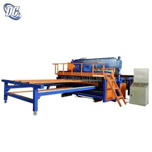 全自动气动排焊机 全自动网片机 全自动重型钢筋网焊网机