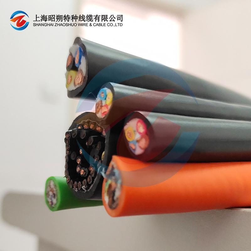 屏蔽型中速移动安装拖链电缆