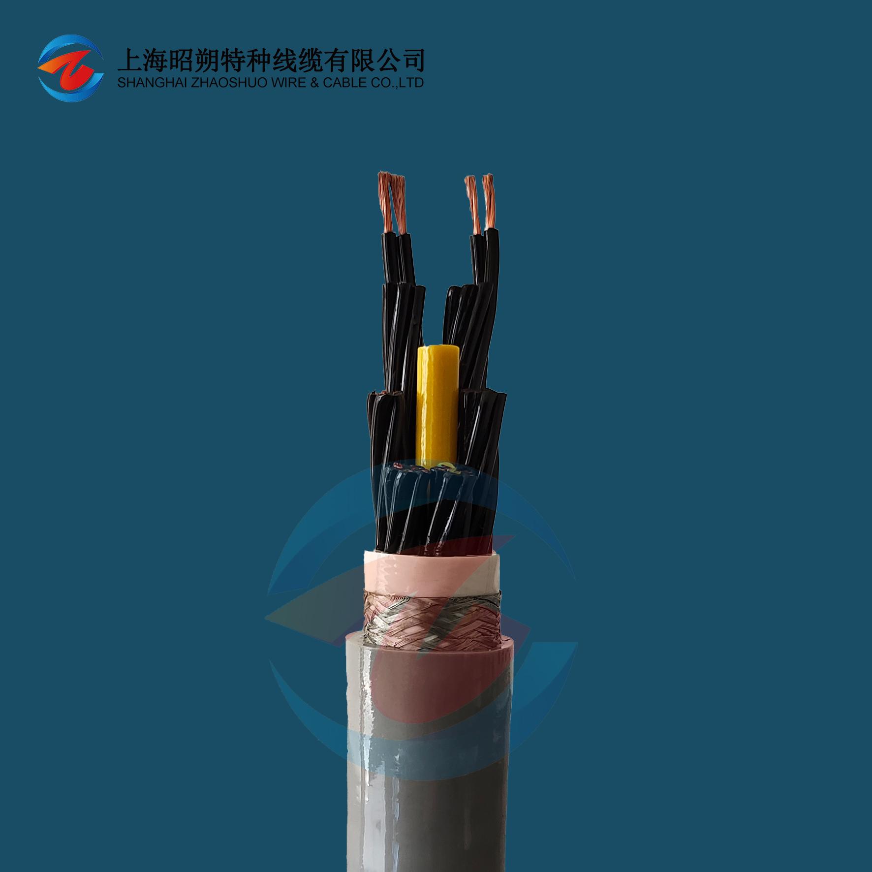中速移动安装专用拖链电缆