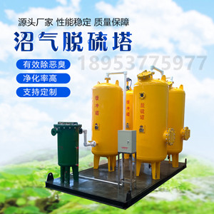 沼气脱硫设备 沼气净化处理