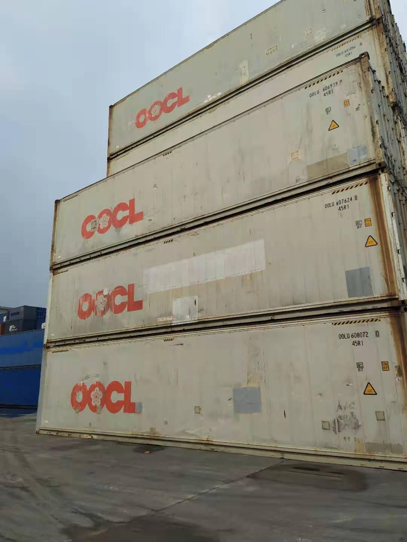 天津港出售集装箱  冷藏集装箱 干货箱