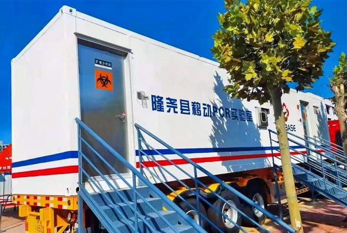 助力抗疫,英威腾UPS智慧锂电方案入驻移动医学检测方舱