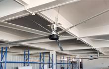 易能ENA101控制器在永磁工业大风扇中的应用