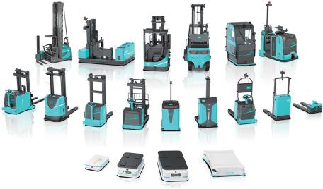 劢微机器人:平衡重式 MW-E 系列无人叉车发布